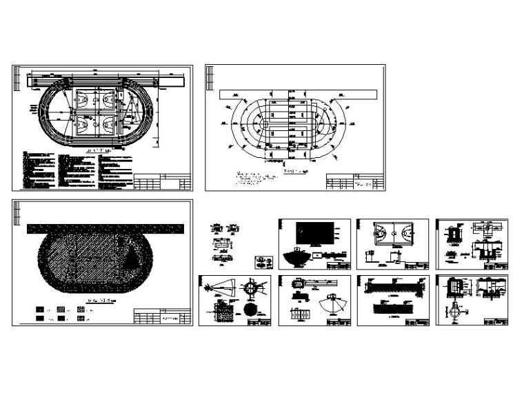 [广东]小学200米田径场及运动设施方案设计图纸-缩略图