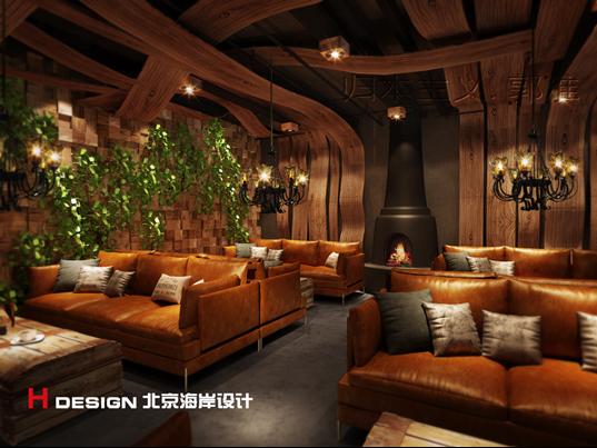 天津塘沽区咖啡厅设计案例_6
