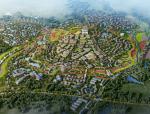 [湖北]中国农谷玫瑰小镇总体规划设计