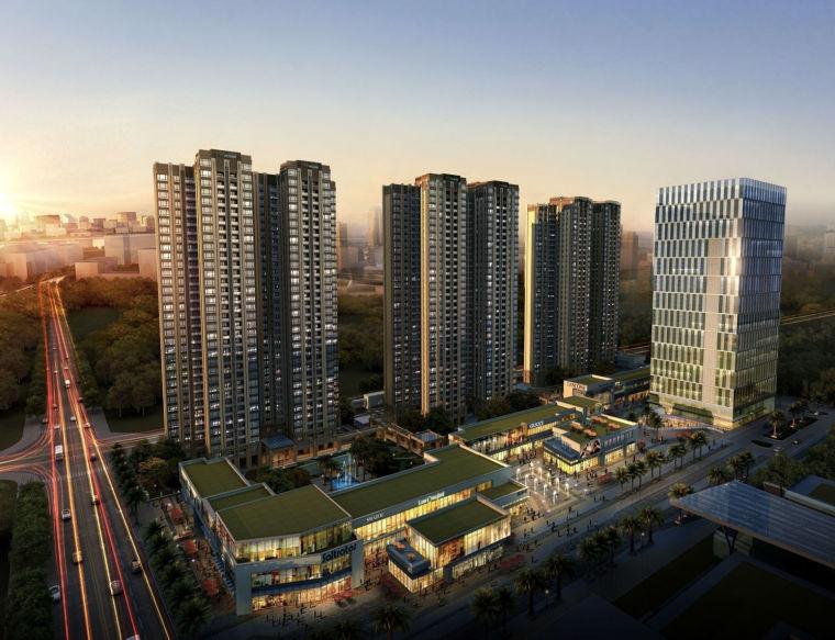 [上海]UA国际禅城绿地中心一期建筑设计方案文本