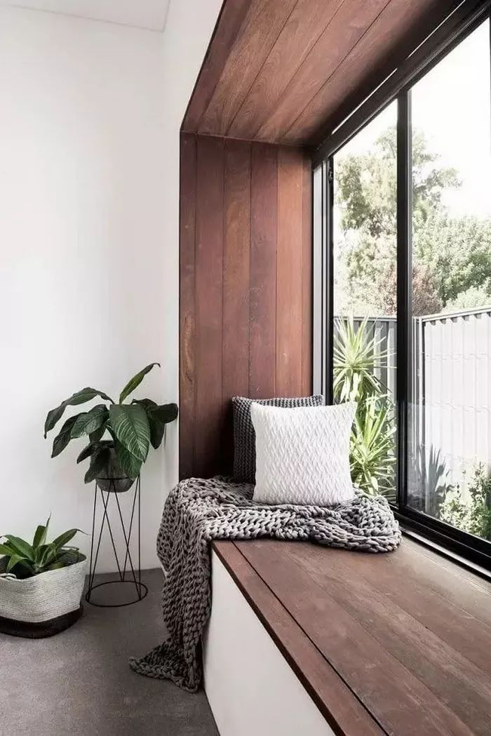 别再将飘窗只做成睡榻了,这些设计师的私藏能让家至少大出5㎡