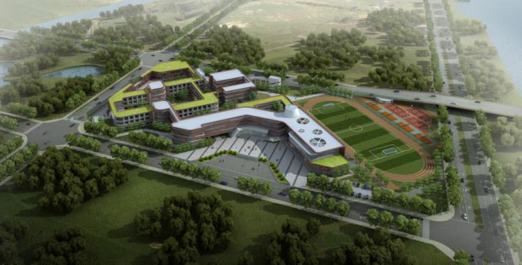 湖州市西南分区小学建筑设计方案文本