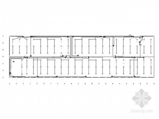 单层工业厂房电气图纸