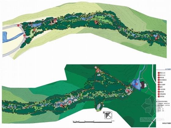[浙江]著名山地旅游风景区景观线路设计方案