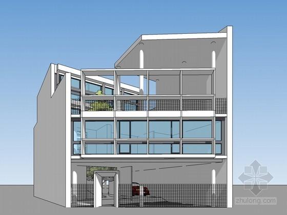 库鲁切特住宅SketchUp模型下载