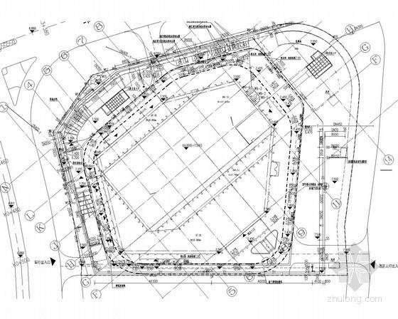 [福建]11万平超高层综合体给排水消防施工图(大空间智能灭火系统)