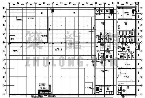 天津某厂房洁净空调设计图