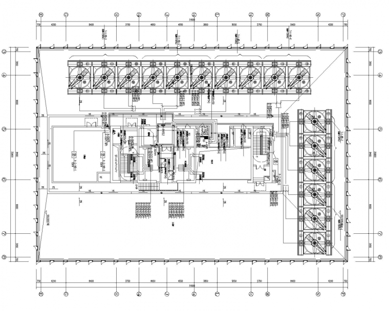 超大型办公楼电气全套施工图