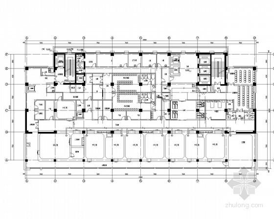 [河北]医院病房大楼给排水消防施工图