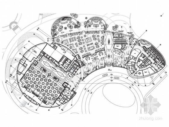 [浙江]国内首家水上白金七星级高档酒店设计方案
