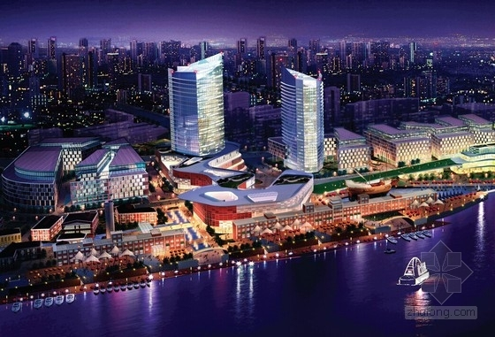 [上海]现代风格沿海码头规划设计方案文本(4个方案 知名设计院)