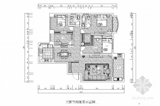 [赣州]历史文化名城花园式小区现代风格两居室装修图