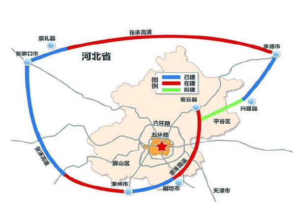 北京任性规划 大七环 线路全长940公里