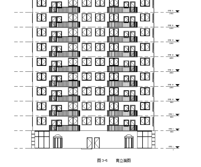 多高层钢结构住宅方案设计(共95页,含计算书,结构图)
