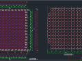 38.8mX34m观众厅焊接球网架结构施工图