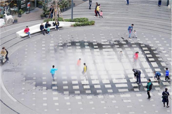 龙湖U城天街景观-9