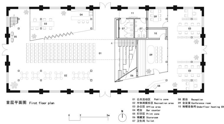 中车1897展示中心C19厂房改造平面图(28)