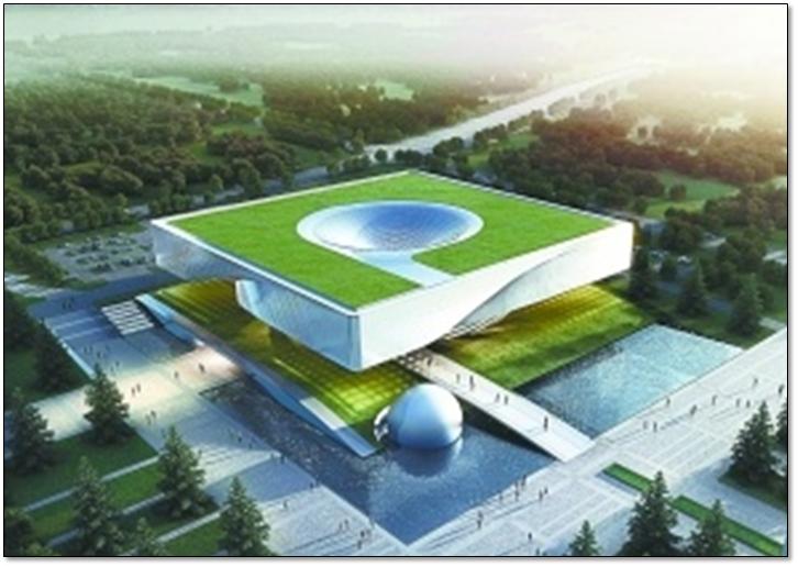 钢结构科技馆施工组织设计汇报(附图丰富,钢框架)_1