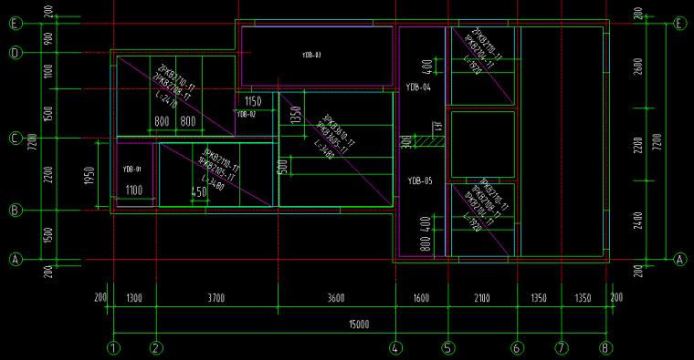 装配式高层剪力墙楼板详图(桁架板)