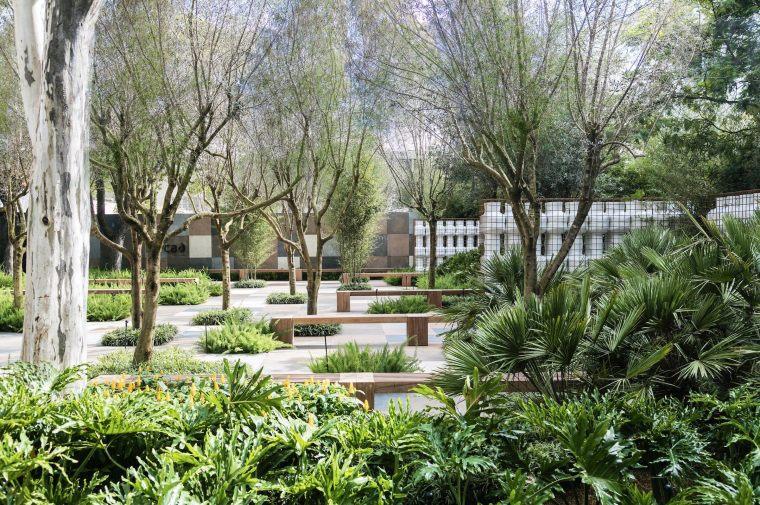 Casa Cor高雅的缓色系像素花园