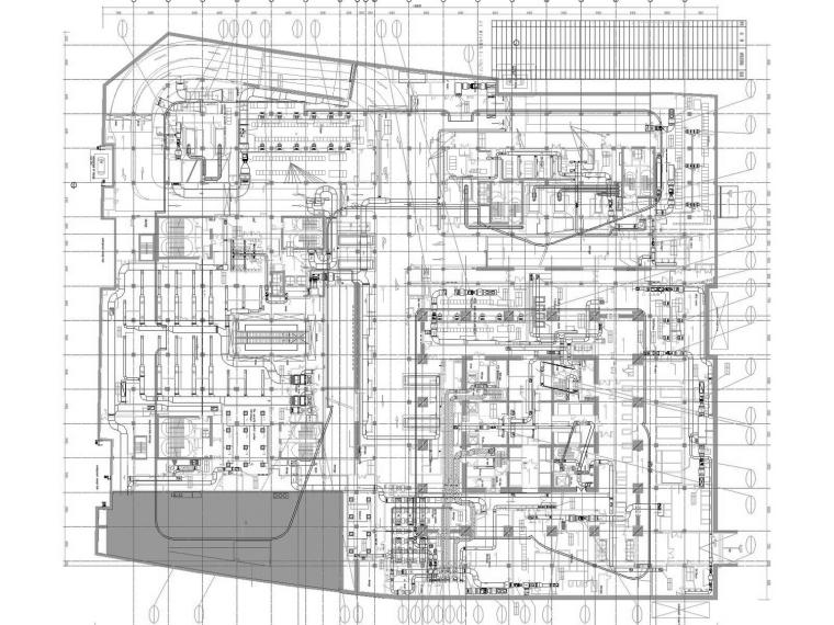 [河南]超高层知名地标商业综合体暖通空调全系统施工图63层144张