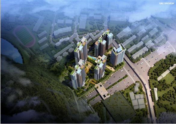 [深圳]现代风格顶级生态豪华超高层住宅及高层住宅建筑方案文本