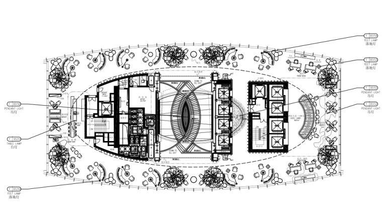 CCD深圳瑞吉酒店灯具、洁具、五金物料表、软装设计材料清单