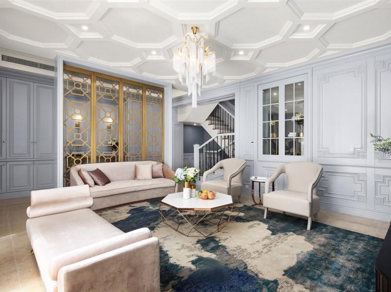 宁波Golden Paris 390㎡法式住宅