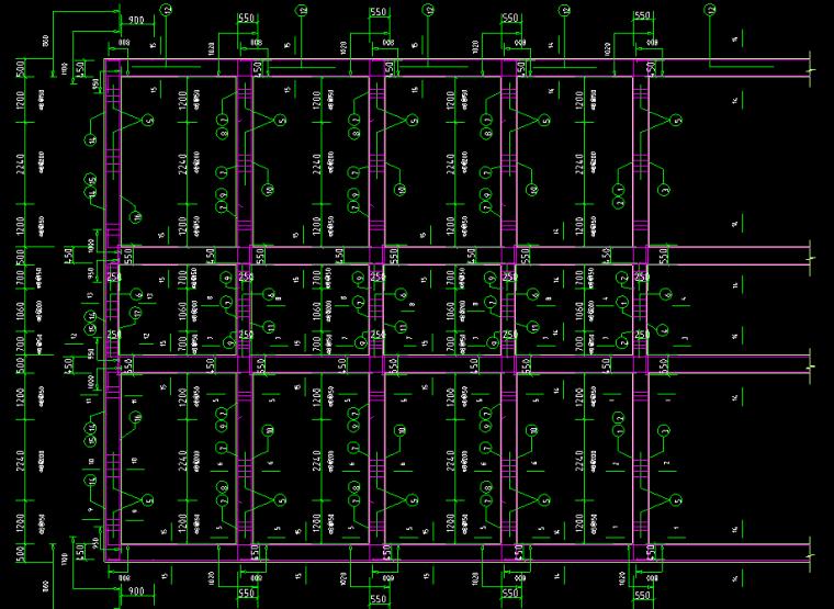 医院住院大楼全套图CAD_5