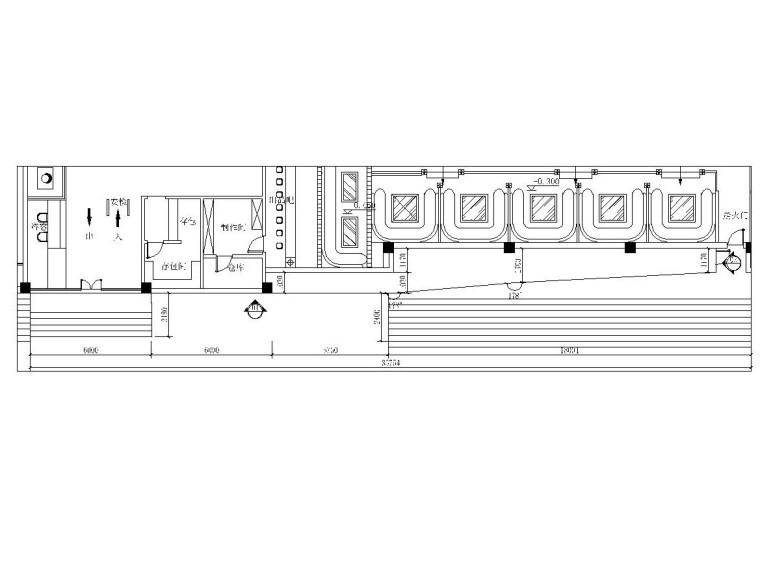 [苏州]百度酒吧外观设计施工详图及效果图