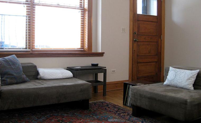 简约不简单夫妻俩的甜蜜一居室实景图