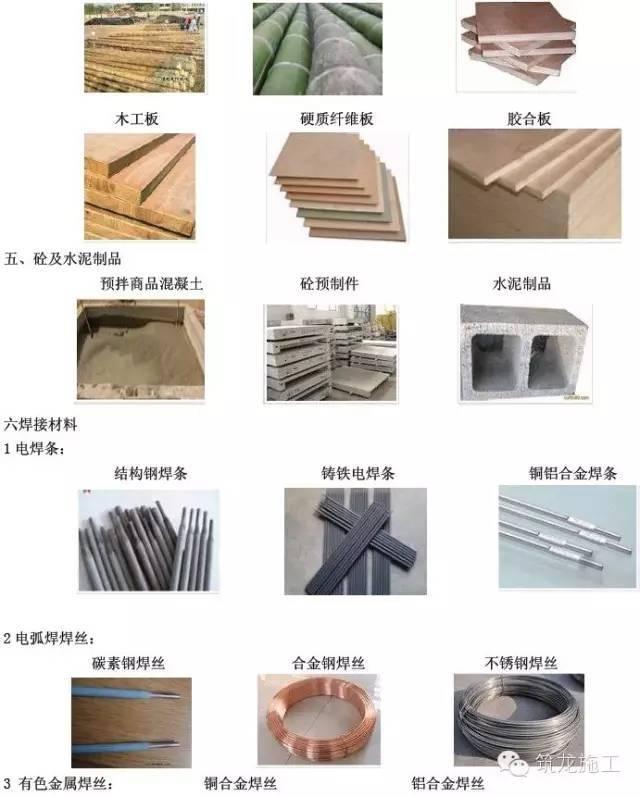 """常用建筑工程材料详细分类及高清图片,学完就能变身""""百科全书""""_4"""