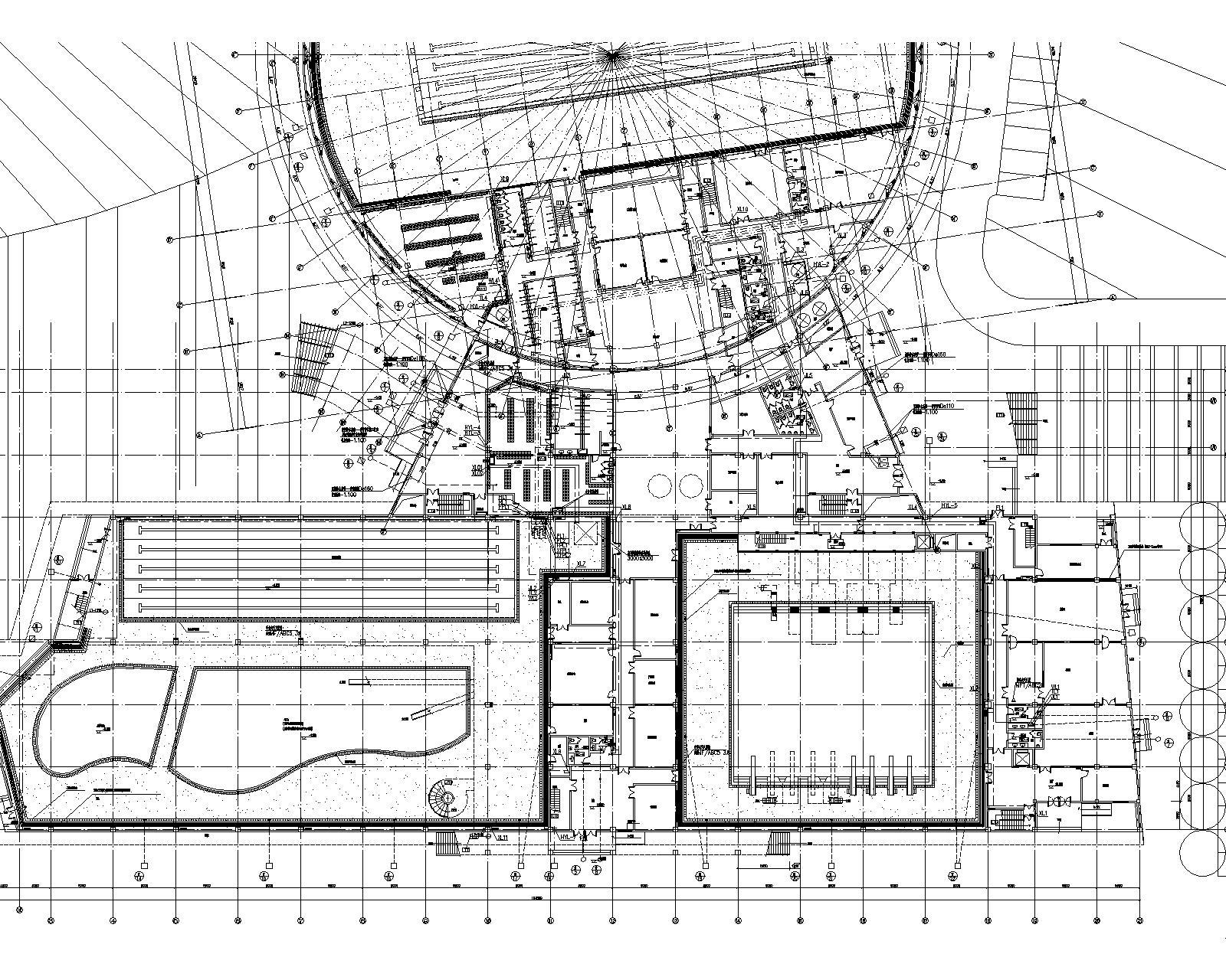 [江苏]连云港体育中心给排水设计全套系统设计(包括室内外给水排水、消防等管道系统及小型给水排水构筑物)_4