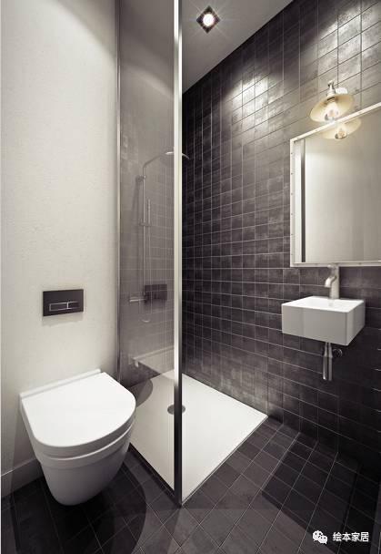 28款卫生间布局设计方案,涵盖所有户型哦!