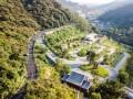 惠州泰康纪念园入口公园景观