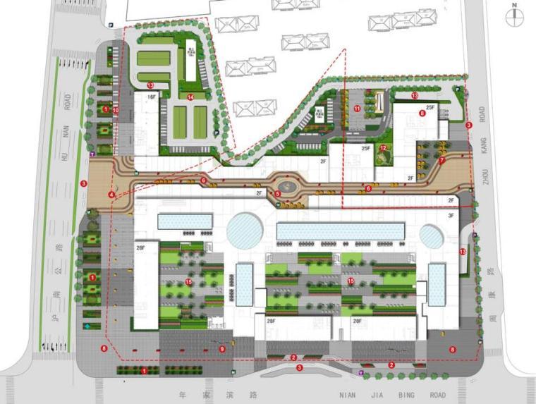 [上海]周浦万达广场景观及外部空间深化设计文本(PDF+106页)