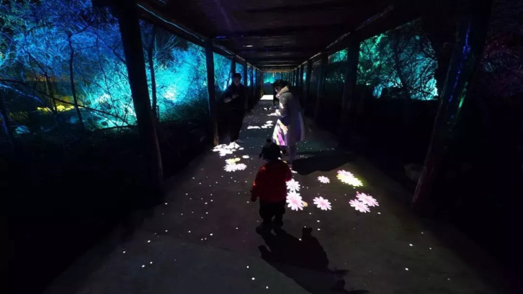 景观黑科技 夜游云溪谷_14