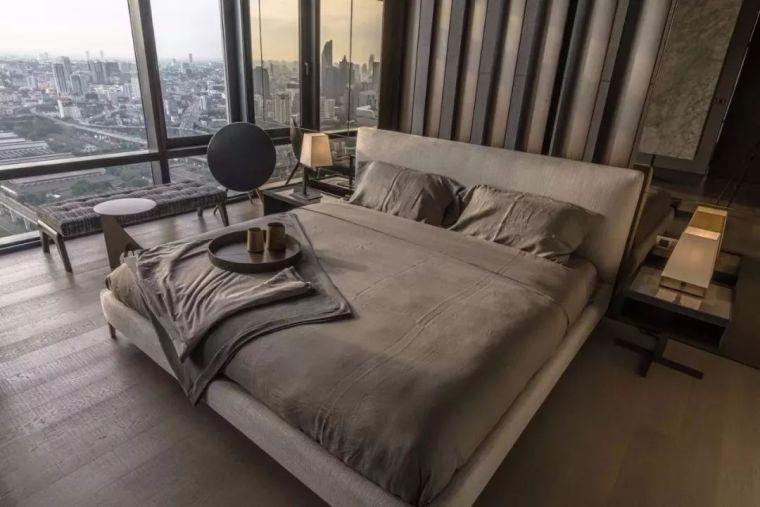 室内设计 130㎡的单身公寓,设计感十足_32