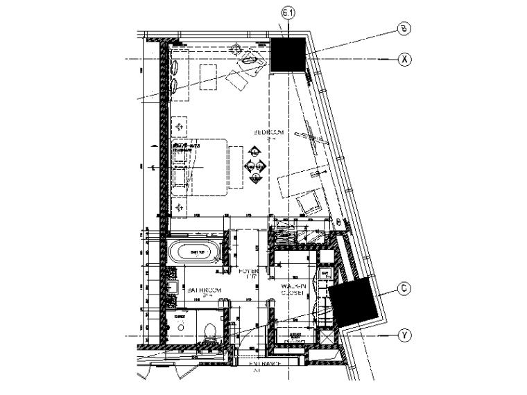 [广州]某高端酒店设计施工图(含实景图效果图)