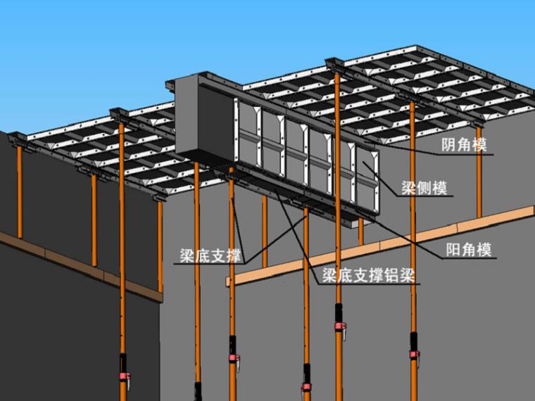 [福建]框架核心筒结构超高层办公建筑铝合金模板专项施工方案