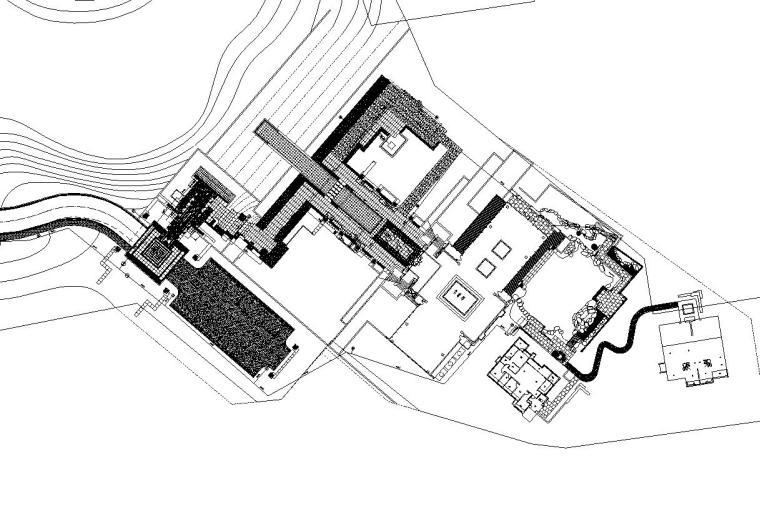 [重庆]九里晴川示范区给排水施工图设计(CAD)