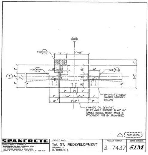 美国预制混凝土在立体停车场的运用案例(附图纸)_23