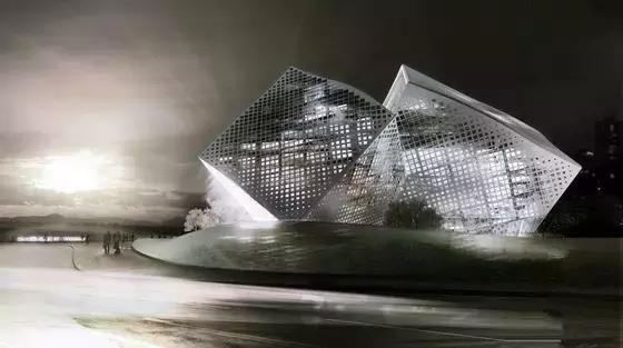 """性冷淡风""""建筑——让人欲罢不能的几何设计!"""