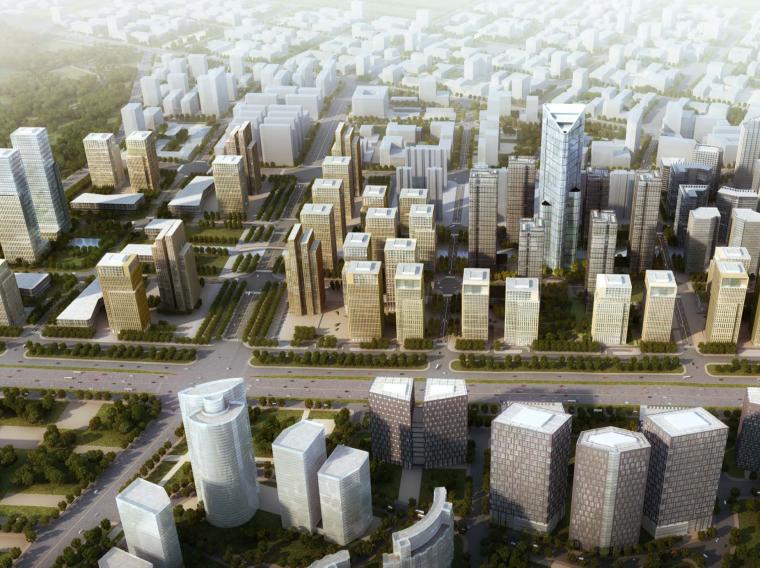 [山东]汉峪金融商务中心城市设计方案文本