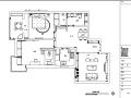 流浪者波西米亚主题二居室样板间设计施工图(附效果图)