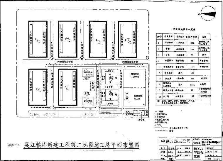 仓库丙级地基基础孔内深层强夯法施工组织设计方案