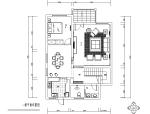 金源三层经济型别墅室内装修图(附效果图)
