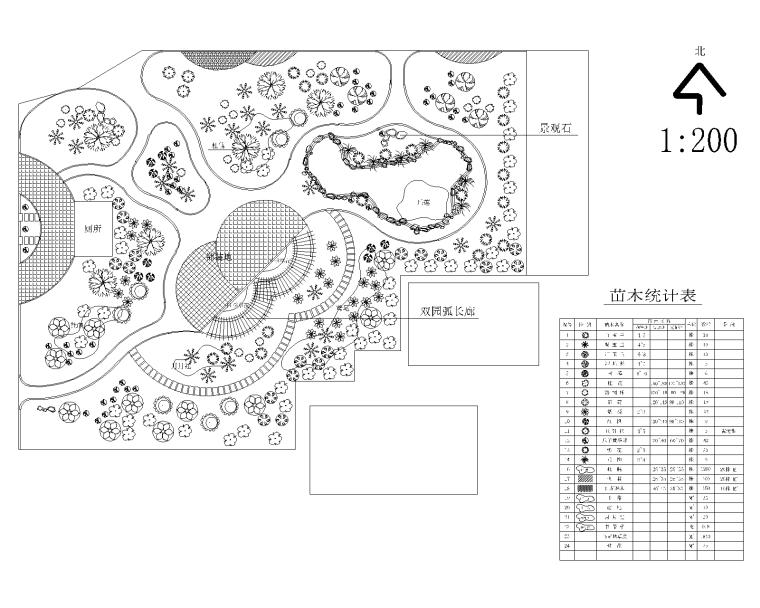 某公园景观设计全套施工图