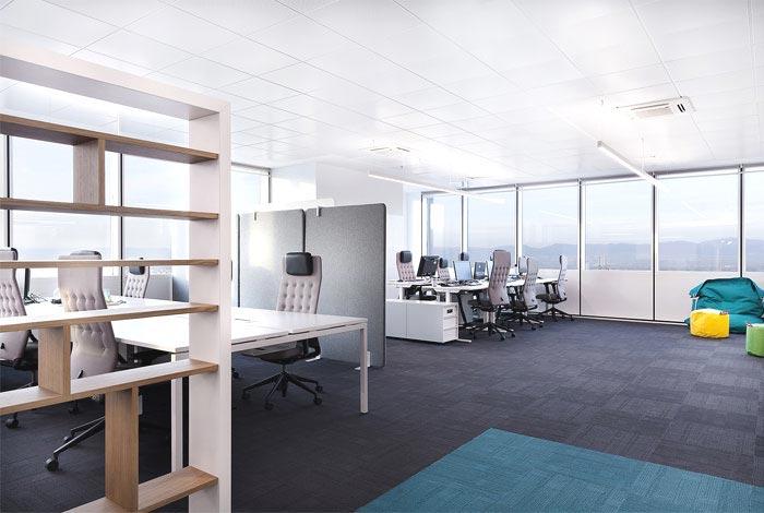 创意+时尚办公室装修设计案例效果图-创意方案设计-