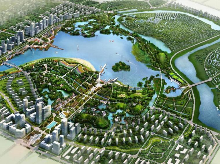 [长沙]长沙松雅湖生态公园概念规划设计(PDF+85页)
